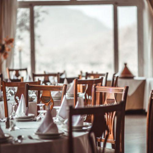 Restaurant-Saal